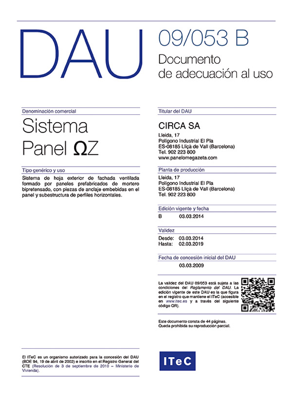 Certification And Awards Panel Omega Zeta